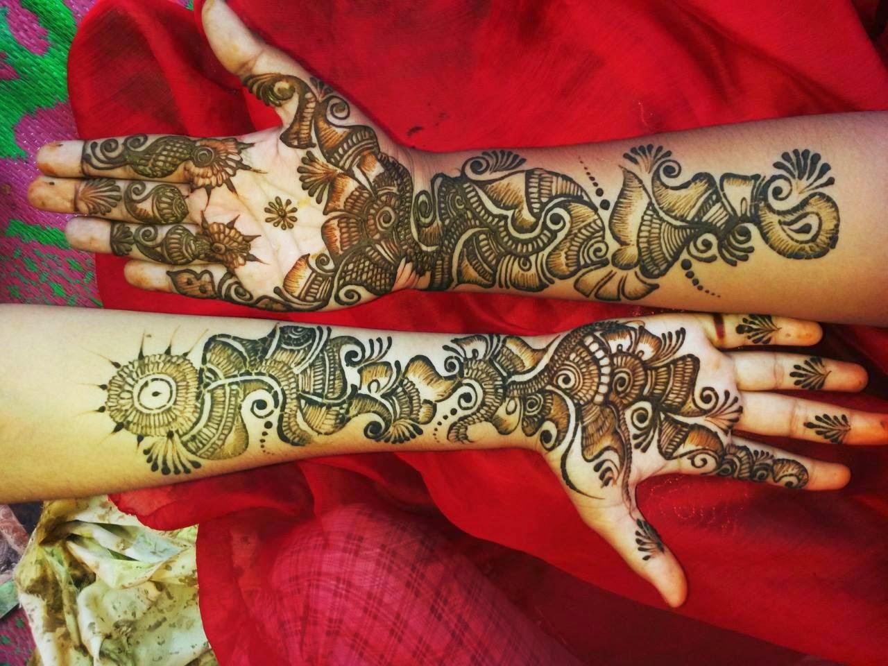 Mehndi Tattoo Bajuband : Best mehndi designs for different occasions june