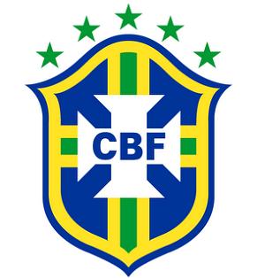 ESCUDO DE LA SELECCIÓN DE FÚTBOL BRASILEÑO.