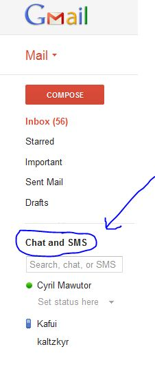 how to set gmail email alert in mobile with sms
