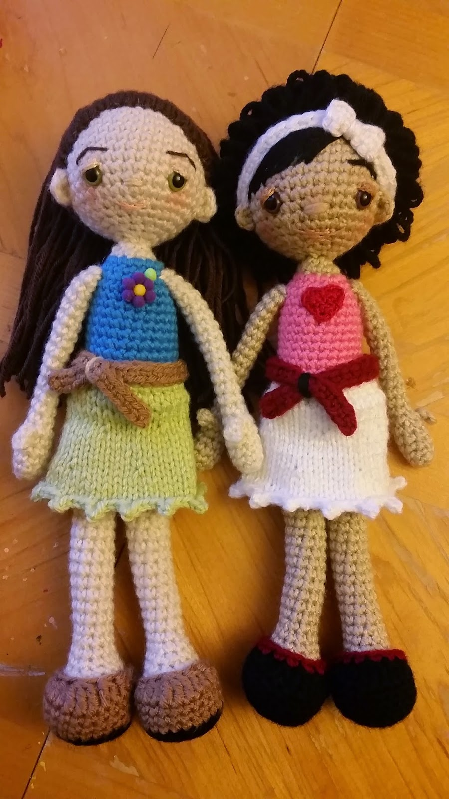 Amigurumi Human Doll Free Pattern : Two Little Cs: Fashion Doll Free Pattern
