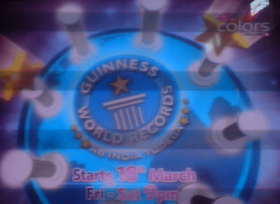 Guinness World Records Ab India Todega on Colors TV