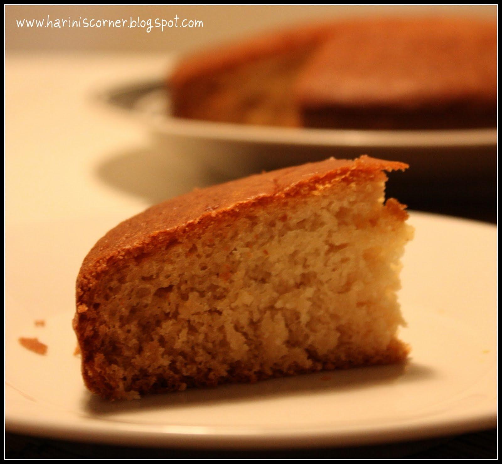 Basic Vanilla Sponge Cake Recipe - Asobian.net