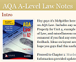 AQA A-level Law Notes