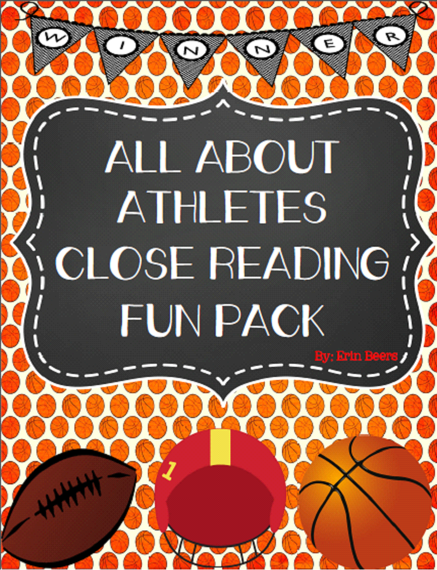 http://www.teacherspayteachers.com/Product/All-About-Athletes-Informational-Text-Close-Reading-Fun-Pack-for-Middle-School-1105587