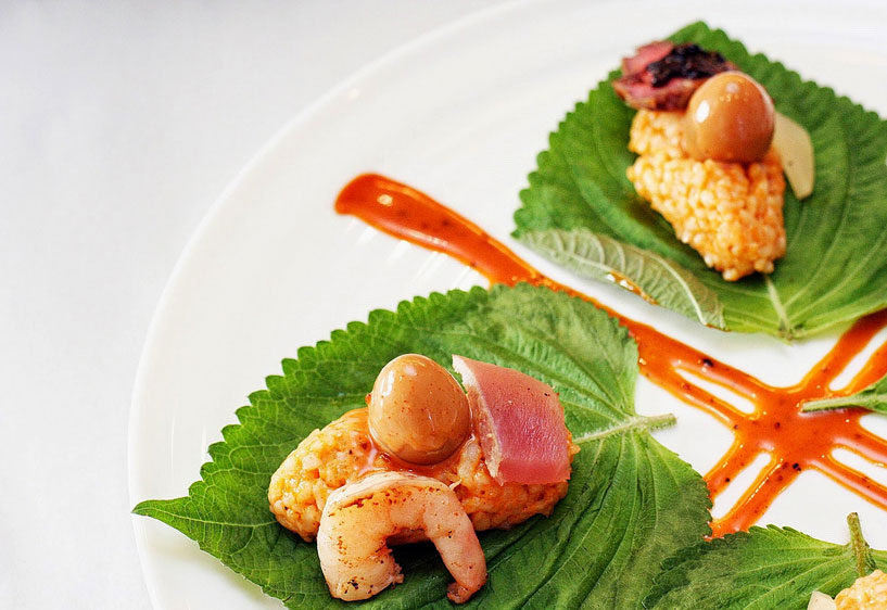 Ultimate Taste Test 2014 - Dulcelin Red Rice Shiso Shrimp