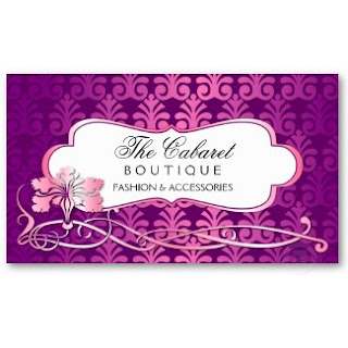 Business Card Showcase by Socialite Designs Fashion and