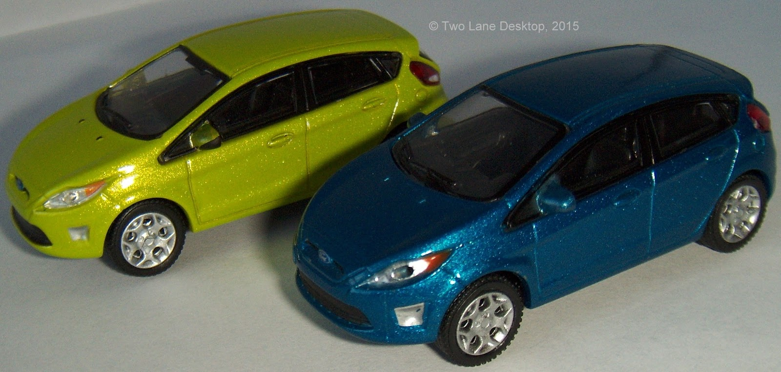 Two Lane Desktop Hot Wheels And Greenlight 2012 Ford Fiesta
