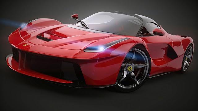 Fondo Ferrari LaFerrari Rojo