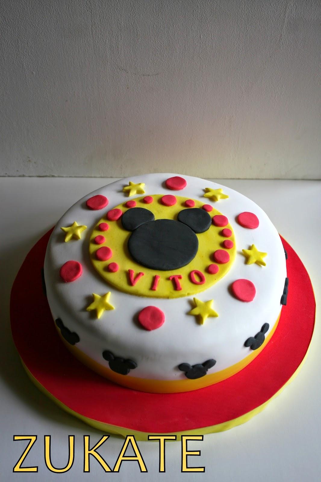 Tortas decoradas de mickey de fiesta infantil torta de for Tortas decoradas infantiles