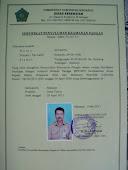 Bukti sertifikat PIRT