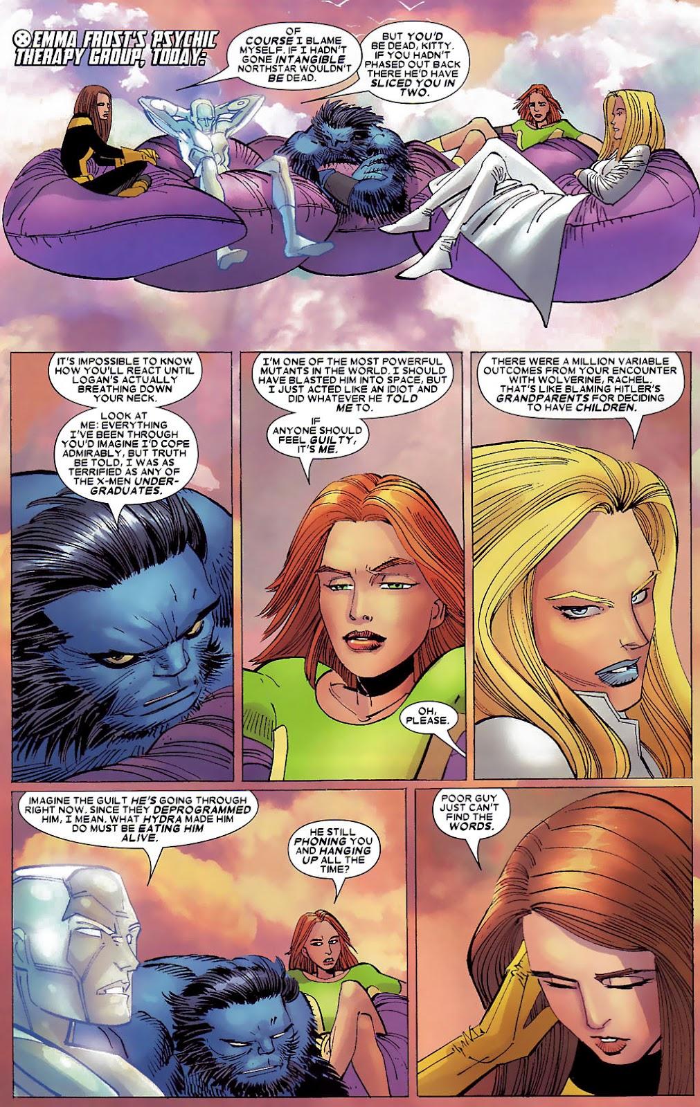 Read online Wolverine (2003) comic -  Issue #30 - 4