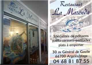 image Restaurant La Marenda à Argeles