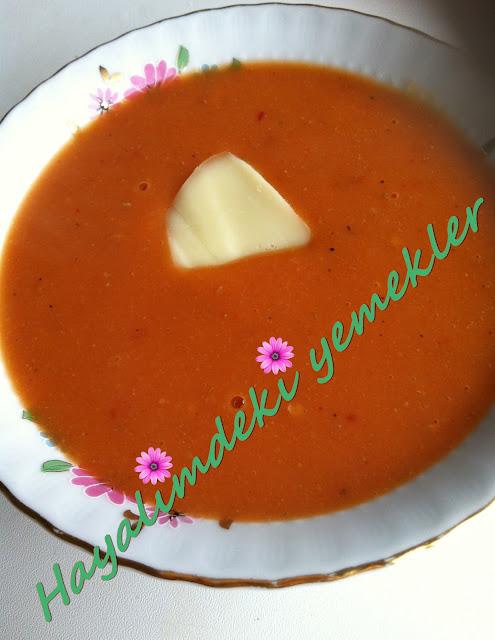 Domates Çorbası Tarifi,Domates Çorbası nasil yapilir