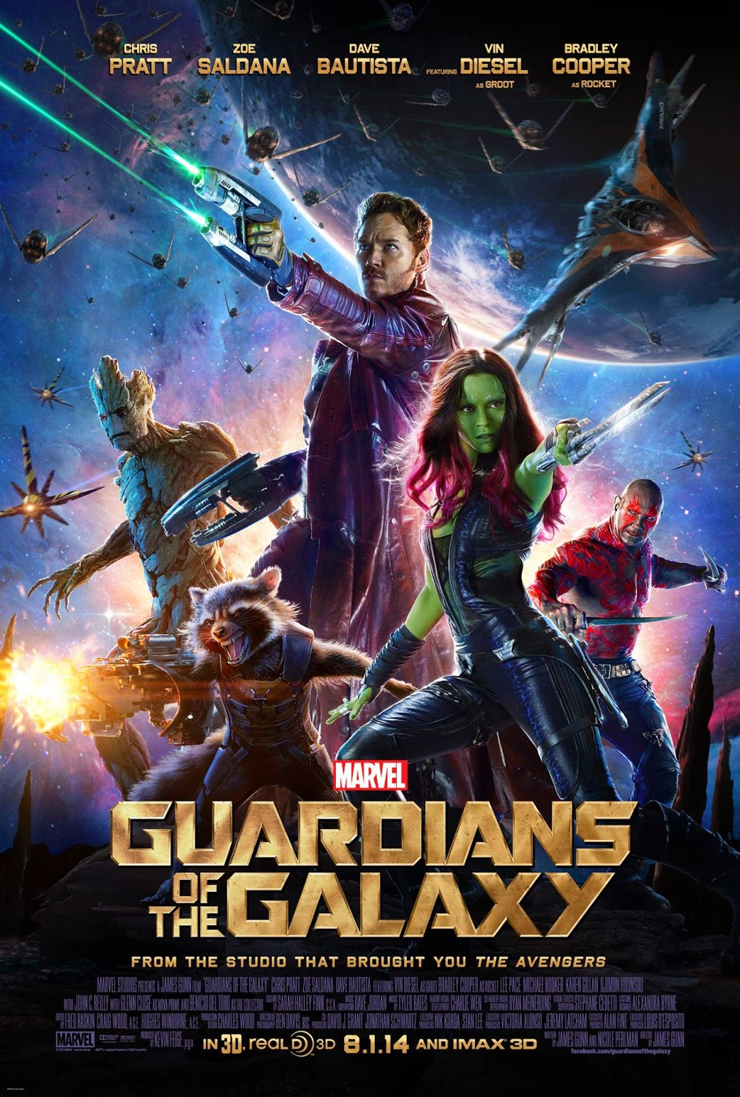 Guardianes de la Galaxia (2014) de James Gunn