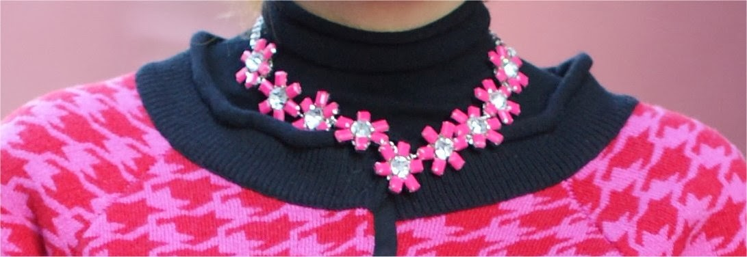 pink necklace, sodini necklace, fashion and cookies, fashion blogger