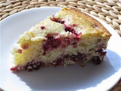 Yum Yum: Raspberry-Ricotta Cake