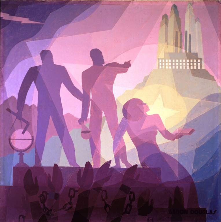 Culture Keepers: Painting like Aaron Douglas
