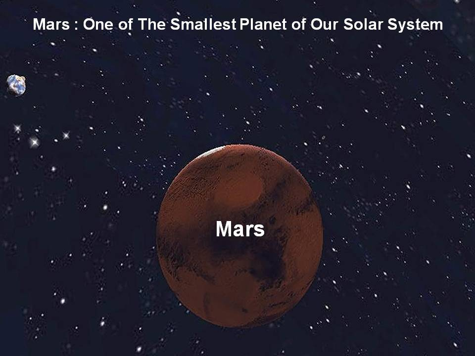 mars planet facts Photo