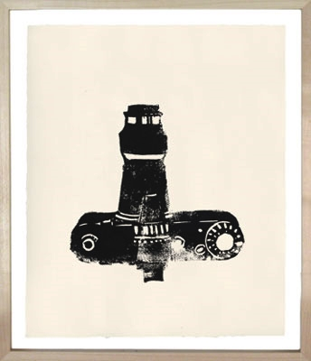 Hugo Guinness Linocuts Camera SLR