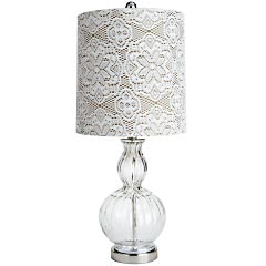 Vintage Lace Lamp $75.00