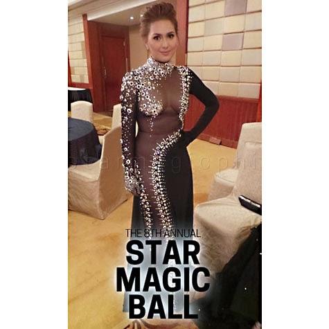 Kristel Moreno - Star Magic Ball 2014