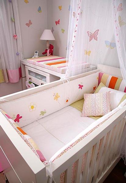 decoracao de jardim para quarto de bebe:Chá de neném: Borboletas no Jardim