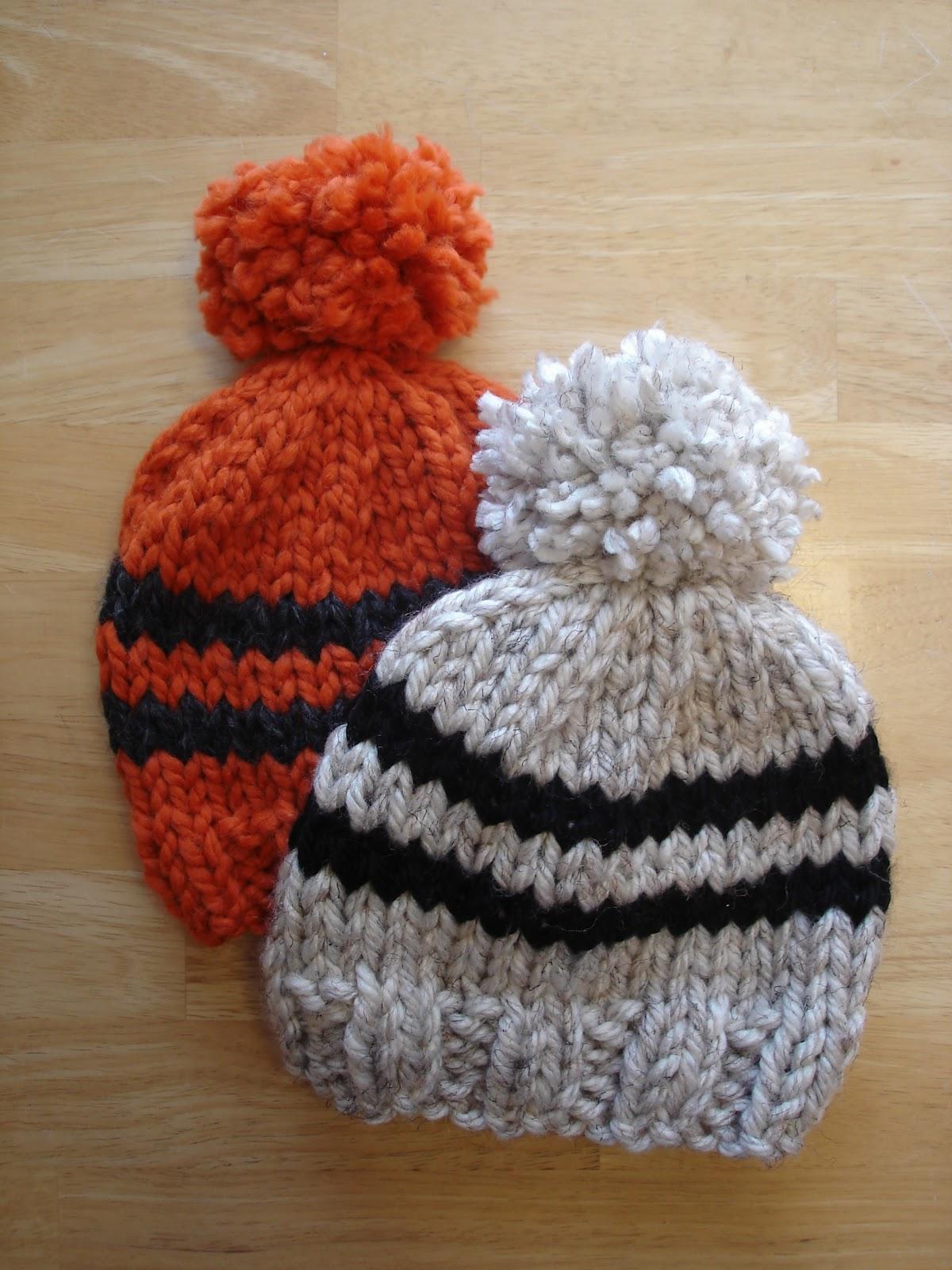 Fiber Flux: Free Knitting Pattern! Preschooler Rugby Hat