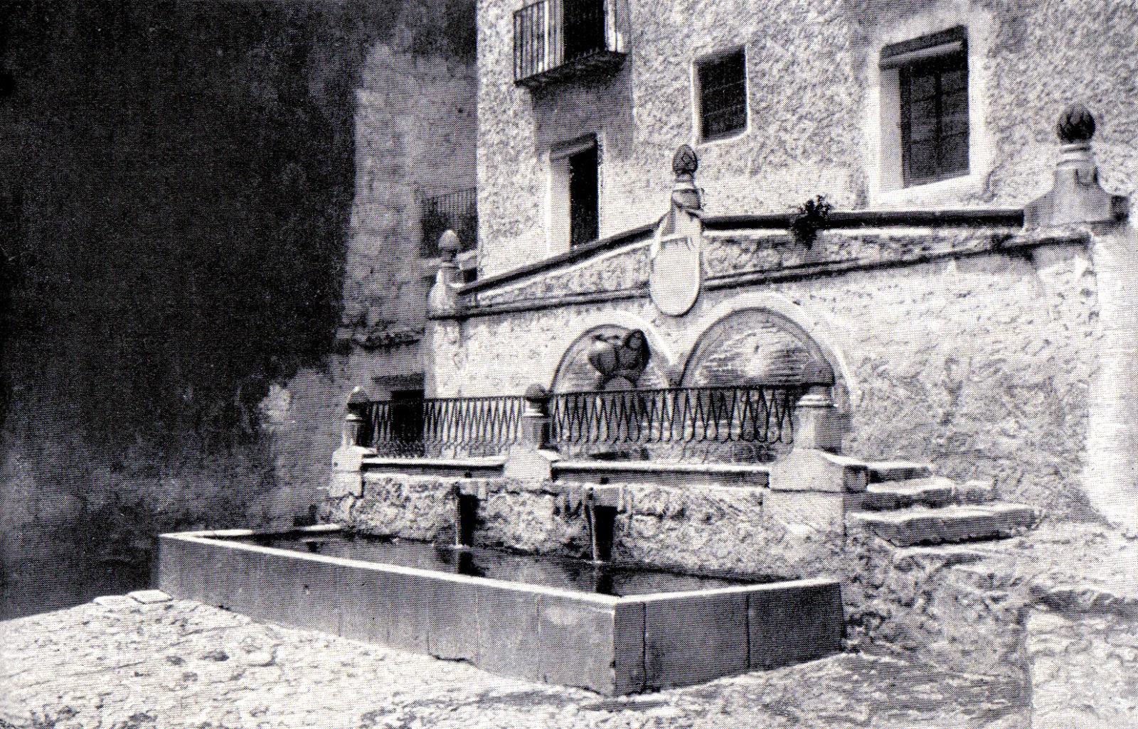 Ja n desde mi atalaya fuentes de ja n la fuente de los chorros de orcera - Fuentes de piedra antiguas ...