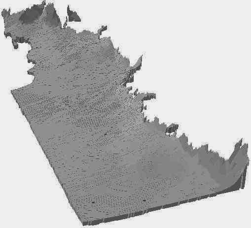 Capa extruida en arcscene