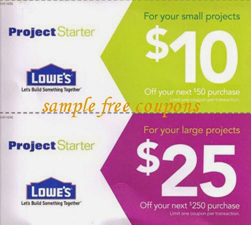 Lowes Home Improvement Coupons May 2014