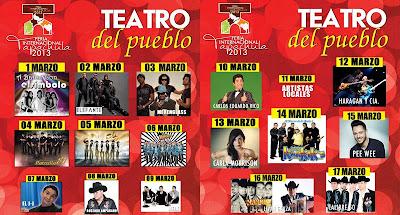 Feria mesoamericana tapachula 2015 palenque y teatro del pueblo