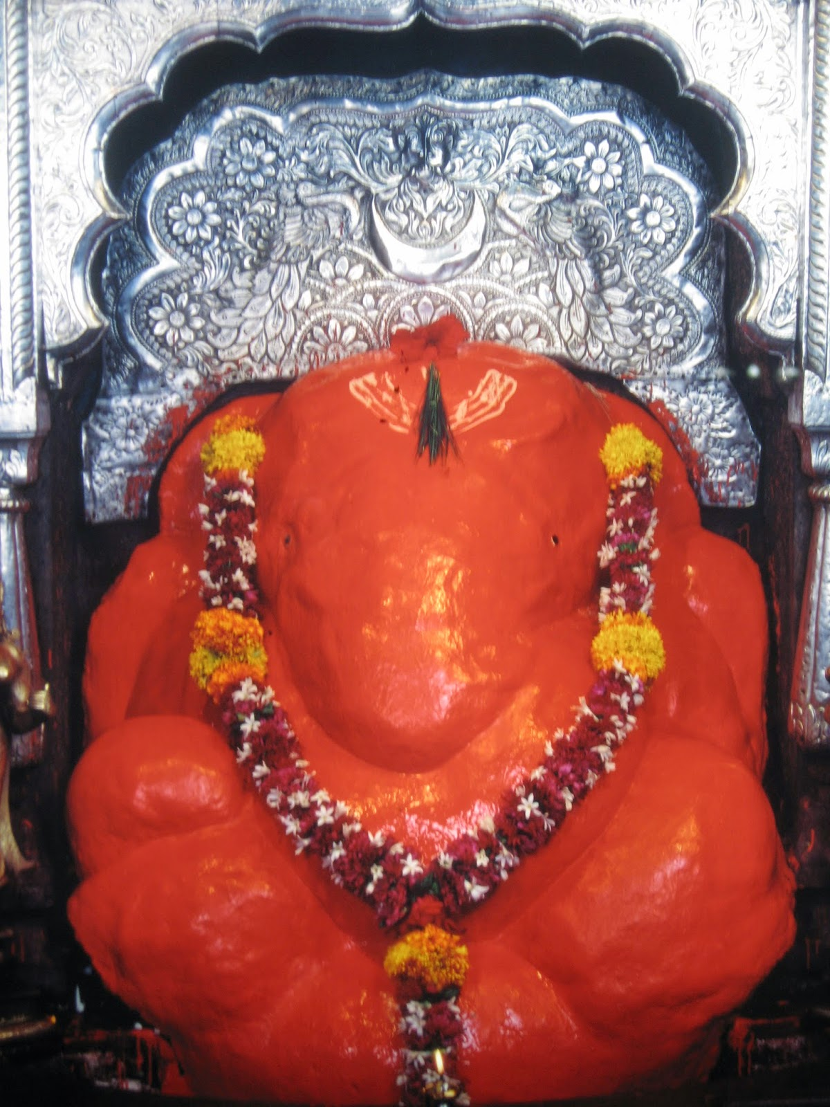 Shri Mahaganapati, Ranjangaon, Ashtavinayak temple, Maharastra, Ganesha Temple, Ganapati Temple