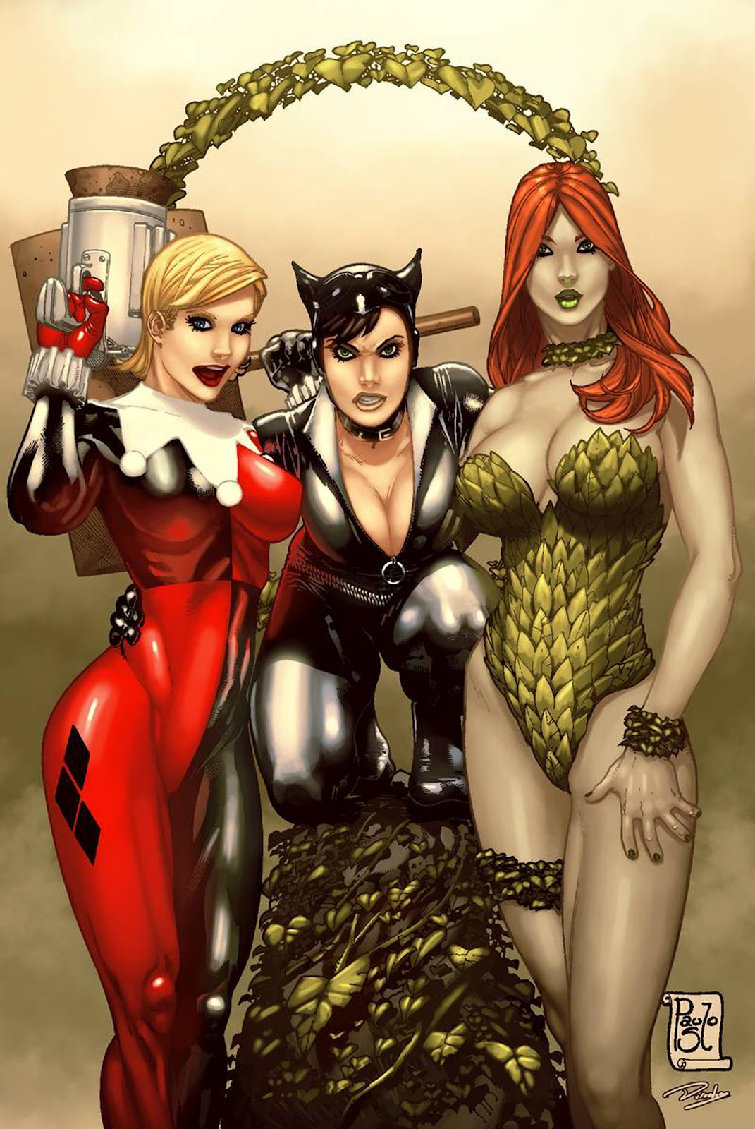 Harley quinn amp poison ivy futa fucking all angles movie futa