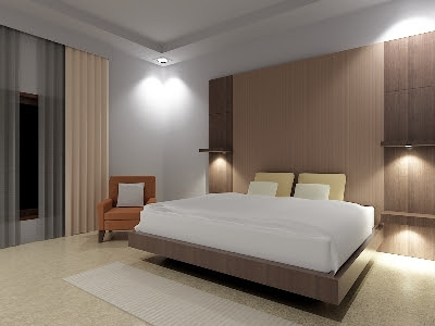 Desain Interior Kamar Tidur Utama Minimalis Contoh Desain Interior