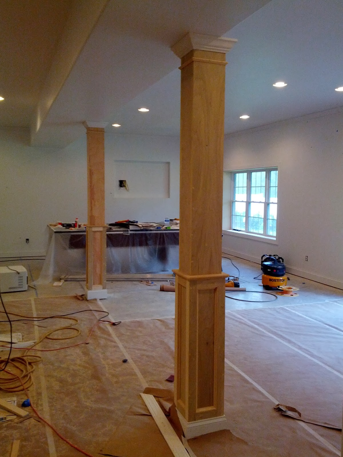 L Amp J Contractors Llc Basement Remodel
