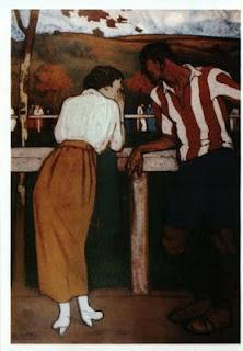 Idilio en los campos de sport, obra de Aurelio Arteta