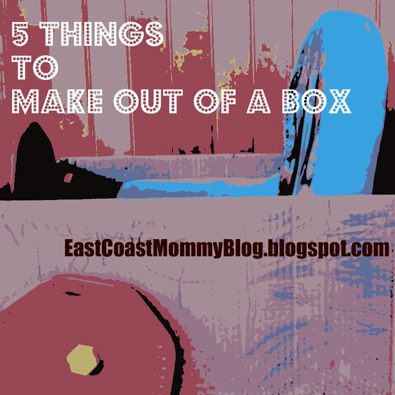 East coast mommy 5 easy things to make out of a box for Easy things to build