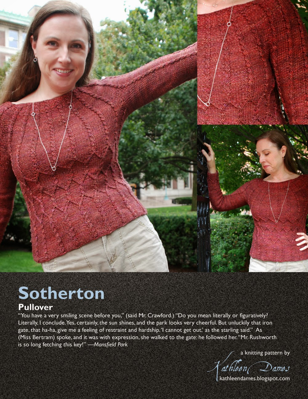 Jane Austen Knitting Patterns : kathleen dames: Jane Austen Knits patterns now on Ravelry!