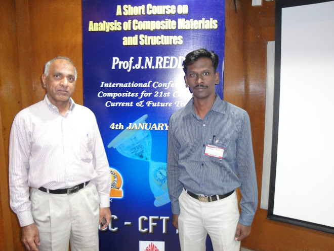 Me with  Prof J N Reddy