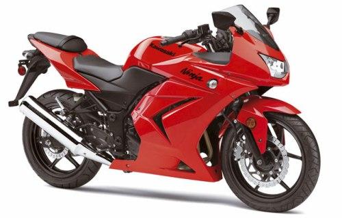 Kawasaki Ninja 250 Vermelha Top Motos