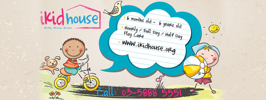 Child Care.  Play Care. Play Group. Hourly Care. Nursery. Toddlers. - iKid House