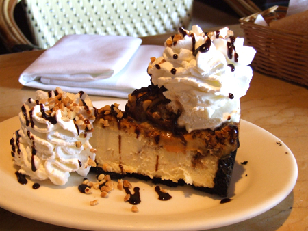 The Cheesecake Factory, Snickers Bar Cheesecake