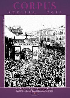 Sevilla - Cartel Corpus Christi 2011