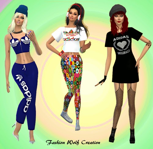Blog de Mis Sims 4: Adidas Clothing Mis Collection Sims 4: for Females by a44432c - hotlink.pw