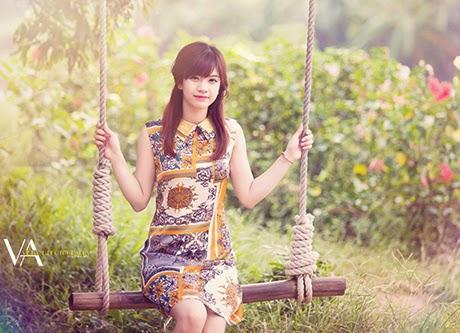 Nữ sinh đại học Kiến trúc xinh đẹp như diễn viên Hàn Quốc
