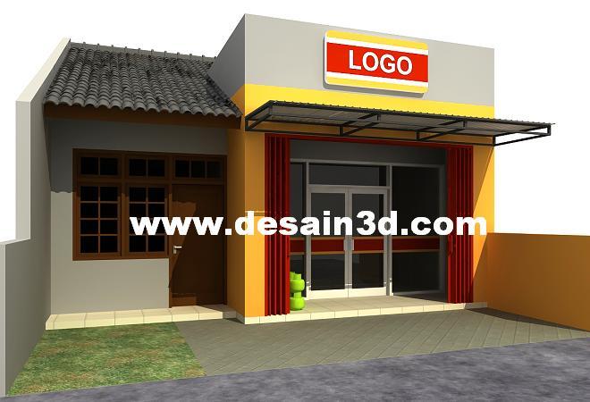 Model Rumah Warung