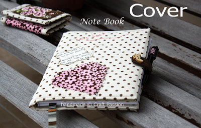 Envoltura para cuaderno