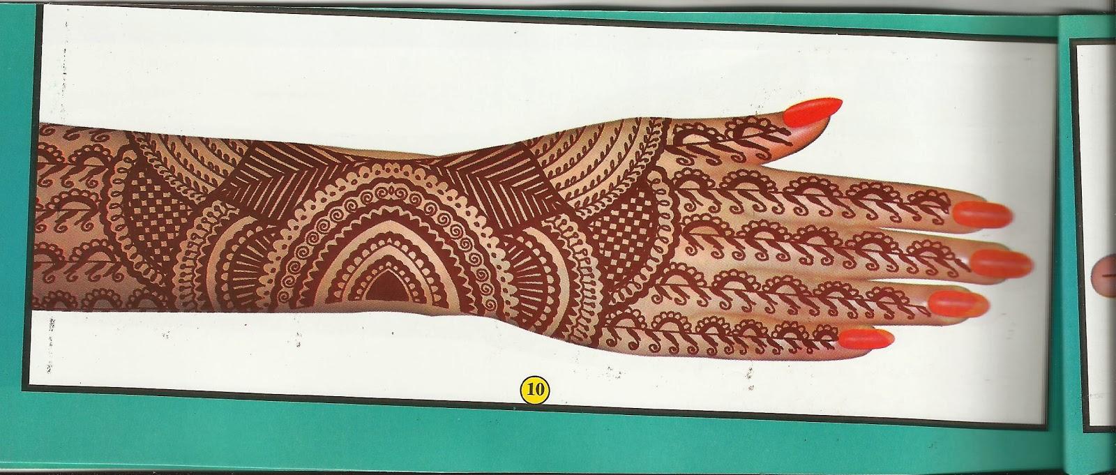 Henna Club Indonesia Buku Desain Henna