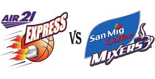Watch PBA Air21 Express vs San Mig Coffee Live Streaming Nov 23