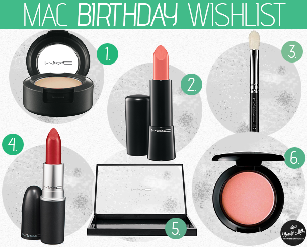 mac holiday birthday wishlists